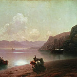 Morning at Sea 1883 110h163, Ivan Konstantinovich Aivazovsky
