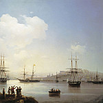 Ivan Konstantinovich Aivazovsky - Russian squadron at the Sevastopol harbor