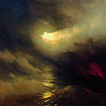 Creation of the World 1864 196h233, Ivan Konstantinovich Aivazovsky