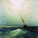 Night. Blue Wave 1876 47h64, Ivan Konstantinovich Aivazovsky