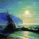 Ivan Konstantinovich Aivazovsky - Shipwreck off the coast of Gurzuf 1898 16h25, 3