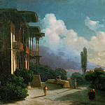 Neighborhood Yalta Night 1866, Ivan Konstantinovich Aivazovsky