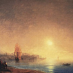 Morning on the Bay 1853 56h89, Ivan Konstantinovich Aivazovsky