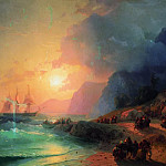 Ivan Konstantinovich Aivazovsky - On the island of Crete in 1867 96h126