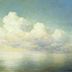 Ivan Konstantinovich Aivazovsky - Clouds over the sea. Calm 1889 112h146