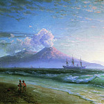 Ivan Konstantinovich Aivazovsky - Bay of Naples early in the morning 1897 61h94