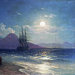 Type sea night 1873 22h30, Ivan Konstantinovich Aivazovsky