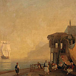 Coffee Shop in Crimea, Ivan Konstantinovich Aivazovsky