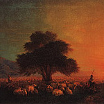 Sheep on pasture 1850 60h89, 5, Ivan Konstantinovich Aivazovsky