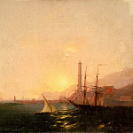 Ivan Konstantinovich Aivazovsky - Sunrise in the harbor