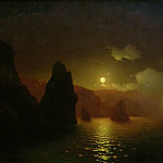 Ivan Konstantinovich Aivazovsky - St Georges Monastery. Cape Fiolent 1846 122,5 h192, 5