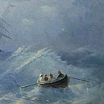 Collapse ship in a stormy sea, Ivan Konstantinovich Aivazovsky