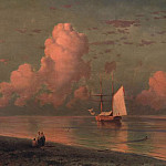 Ivan Konstantinovich Aivazovsky - blue and pink cloud