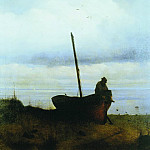 Ivan Konstantinovich Aivazovsky - View on the beach in the vicinity of St. Petersburg 1835. 133,6 h107, 3