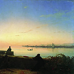 Ivan Konstantinovich Aivazovsky - Mkhitarian on the island of St. Lazarus. Venice 1843 68h100