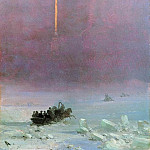 Ivan Konstantinovich Aivazovsky - Petersburg. The ferry across the river 1870 22h16, 6