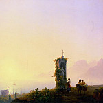 Ivan Konstantinovich Aivazovsky - Chapel on the beach 1847