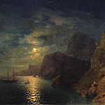 Sea Night 1861, Ivan Konstantinovich Aivazovsky
