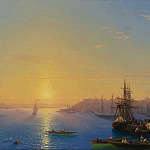 View of Constantinople and the Golden Horn, Ivan Konstantinovich Aivazovsky