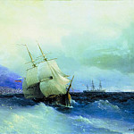 Trebizond from the Sea 1875 61h94, Ivan Konstantinovich Aivazovsky