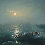 Ivan Konstantinovich Aivazovsky - Sea at night