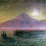 Ivan Konstantinovich Aivazovsky - Descent from Mount Ararat in November 1870