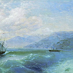 Ivan Konstantinovich Aivazovsky - 1875 60h94 On the coast, 5