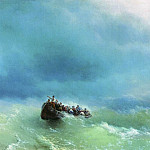 Ivan Konstantinovich Aivazovsky - In the storm of 1872 72h92
