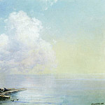 Ivan Konstantinovich Aivazovsky - Morning after the storm 1888 40x60