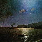 Ivan Konstantinovich Aivazovsky - First train in Feodosia 1892 96h194, 5