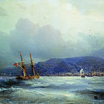 Ivan Konstantinovich Aivazovsky - Trebizond from the Sea 1856 27. 1h41. 1
