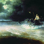 Ivan Konstantinovich Aivazovsky - Travel Poseidon the sea 1894 212.5 h318