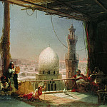 Ivan Konstantinovich Aivazovsky - Scenes from the life of Cairo in 1881 66,5 h98
