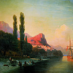 Ivan Konstantinovich Aivazovsky - View on the Golden Horn