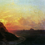 Ivan Konstantinovich Aivazovsky - Compressed field. Sunset 1861 26h36