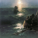 Ivan Konstantinovich Aivazovsky - Walking on Water 1890 70x50