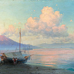 Ivan Konstantinovich Aivazovsky - Bay of Naples 1893 46h74 in the morning, 7
