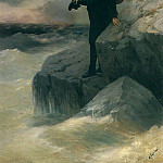Farewell Pushkin to the sea, Ivan Konstantinovich Aivazovsky