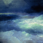 Ivan Konstantinovich Aivazovsky - Among the Waves 1898 284h429