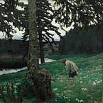 Lake. 1902, Apollinaris M. Vasnetsov