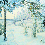Apollinaris M. Vasnetsov - Winter Dream (Winter). 1908-1914