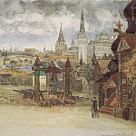 Apollinaris M. Vasnetsov - Musketeers District. 1897