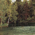 Royal pond. Demyanovo. 1903-1917, Apollinaris M. Vasnetsov