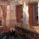 Ruins of the house. 1900 e, Apollinaris M. Vasnetsov