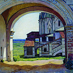 Kolomna. Gate Tower Clock-tower. 1927, Apollinaris M. Vasnetsov