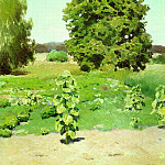 Summer day. 1880, Apollinaris M. Vasnetsov