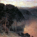 Mountain Lake. Ural. 1892, Apollinaris M. Vasnetsov