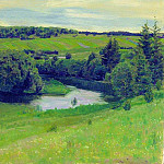 Northern landscape. 1902, Apollinaris M. Vasnetsov