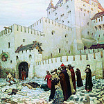 Moscow torture chamber. The end of the XVI century. 1912, Apollinaris M. Vasnetsov