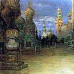 Apollinaris M. Vasnetsov - Red Square. 1897